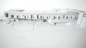 maquette tactile du musée du Quai Branly