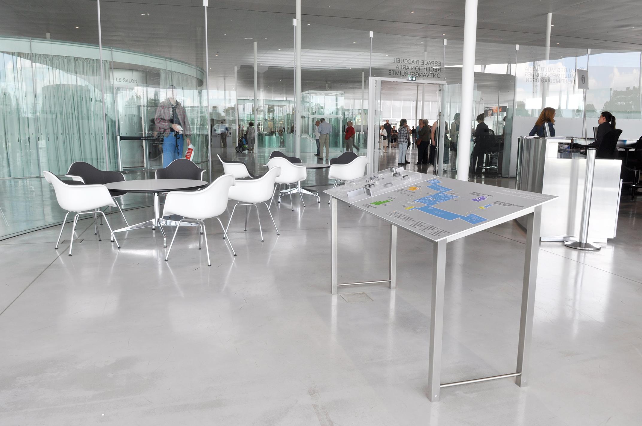 Plan en relief, Louvre Lens