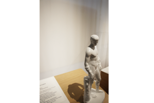 Statuette d'Athlète, Musée des civilisations de l'Europe et de la Méditerranée