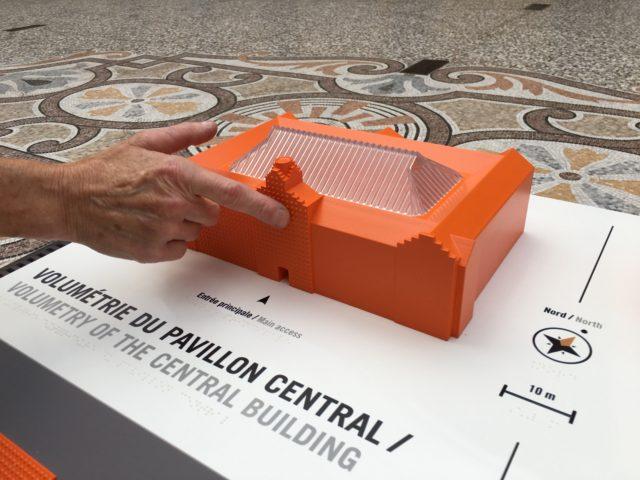 Familistère de Guise 2017 Maquette du Pavillon Central