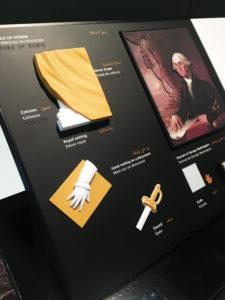 Station tactile - George Washington, les symboles du pouvoir - Louvre Abu Dhabi 2018